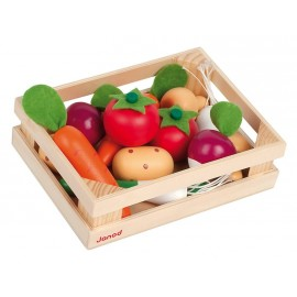 Cagette 12 légumes en bois Janod