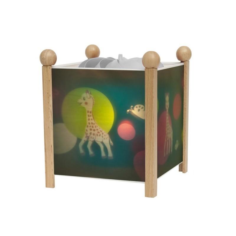 lanterne magique sophie la girafe trousselier. Black Bedroom Furniture Sets. Home Design Ideas