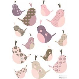Stickers Oiseaux du levant