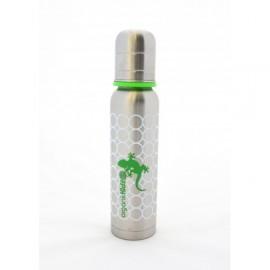 Biberon inox isotherme Organic Kidz Gecko - 270ml