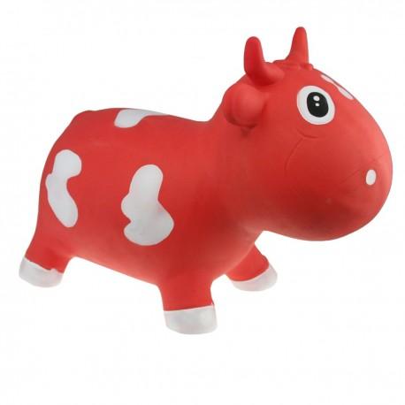 Betsy la vache sauteuse rouge et blanc nouvelle version