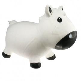 Harry le poney sauteur blanc et noir Kidzzfarm