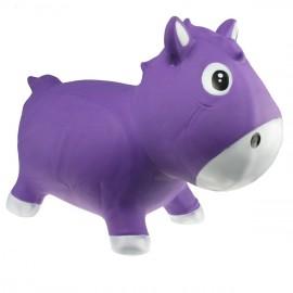 Harry le poney sauteur lila et blanc Kidzzfarm