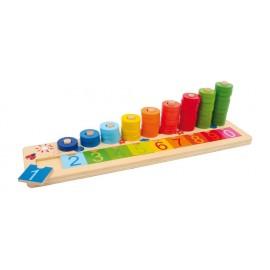 Table à calcul et plaquettes Legler