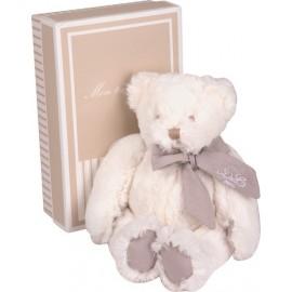 Peluche Mon tout petit ours taupe 25cm Doudou et Compagnie