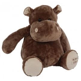 Peluche Hippo assis 38cm Histoire d'Ours