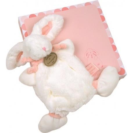 Lapin bonbon rose Doudou et Compagnie