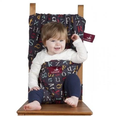 chaise nomade b b totseat alphabet une cuill re pour doudou. Black Bedroom Furniture Sets. Home Design Ideas