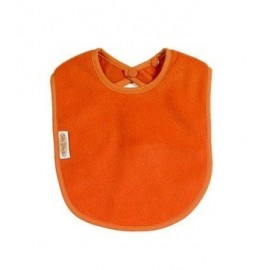 Bavoir Anti-taches Polaire Orange Silly Billyz