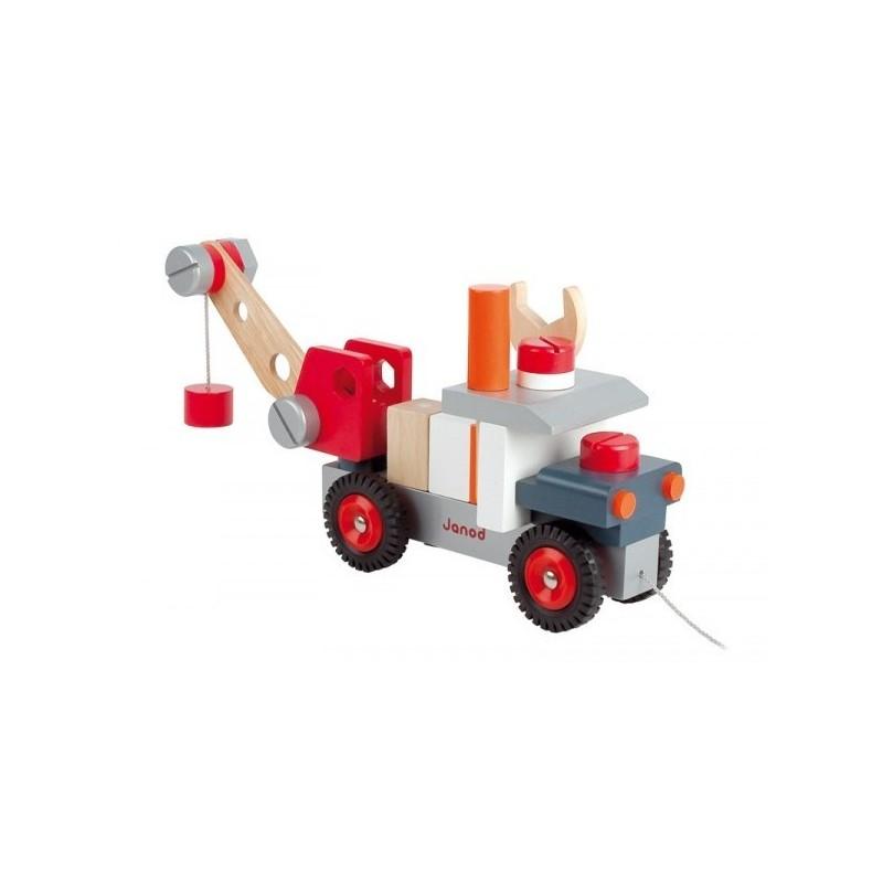 camion grue janod. Black Bedroom Furniture Sets. Home Design Ideas