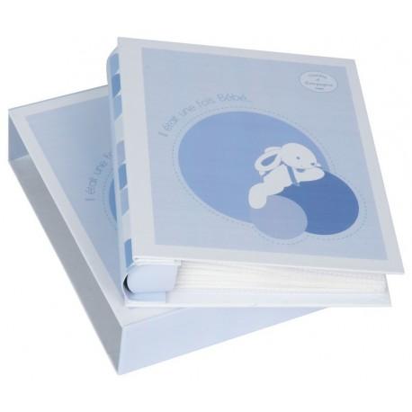 Album photos lapin bonbon bleu (50vues)