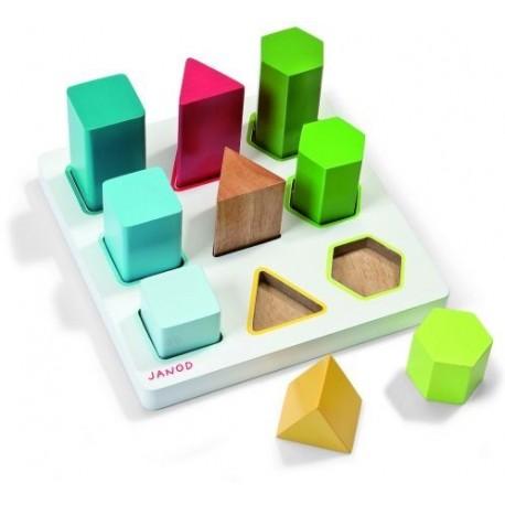 Puzzle 9 pièces Janod