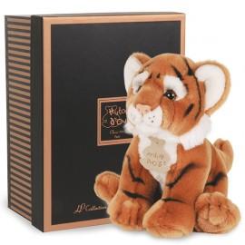 Peluche Tigre 20cm les Authentiques Histoire d'Ours