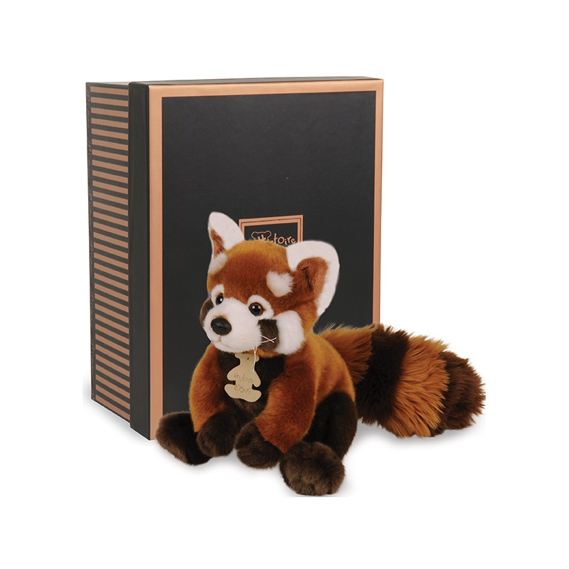 Peluche Panda Roux Les Authentiques Histoire D Ours