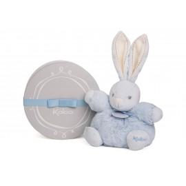 Peluche P'tit lapin bleu Perle (18cm) Kaloo