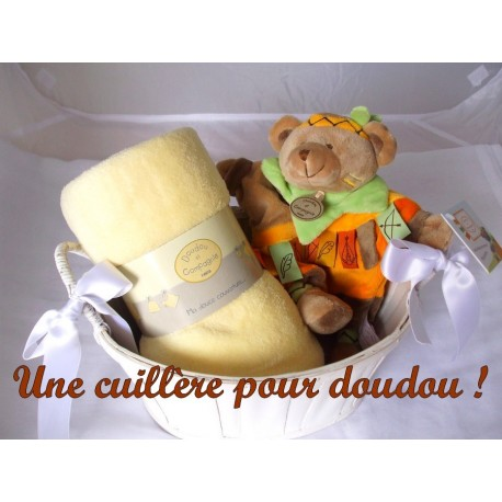 Panier naissance ours indien