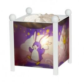 Lanterne magique Lapingouin Blanc Trousselier