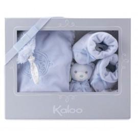 Petit coffret cadeau Perle bleu Kaloo