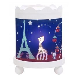 Lanterne manège magique Sophie la girafe Paris Trousselier