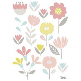 Sticker enfant fleurs Lilipinso