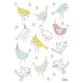 Sticker Oiseaux doux Lilipinso