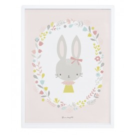 Affiche Lapin fille Lilipinso