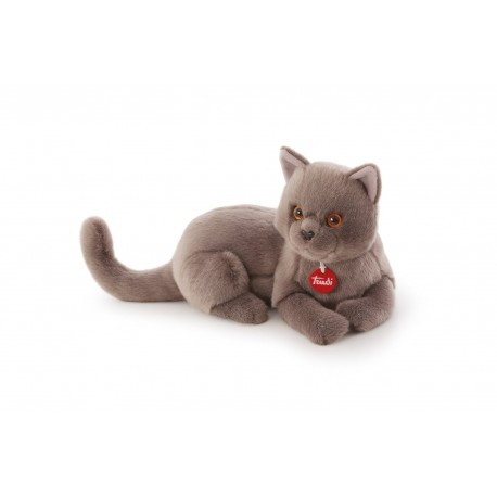 jouet chat taupe