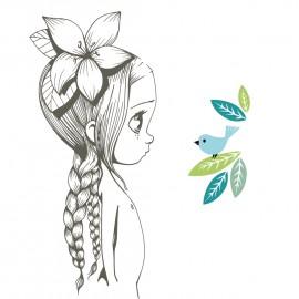 Stickers Wild girl 06