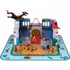 Le château fantastique en valise