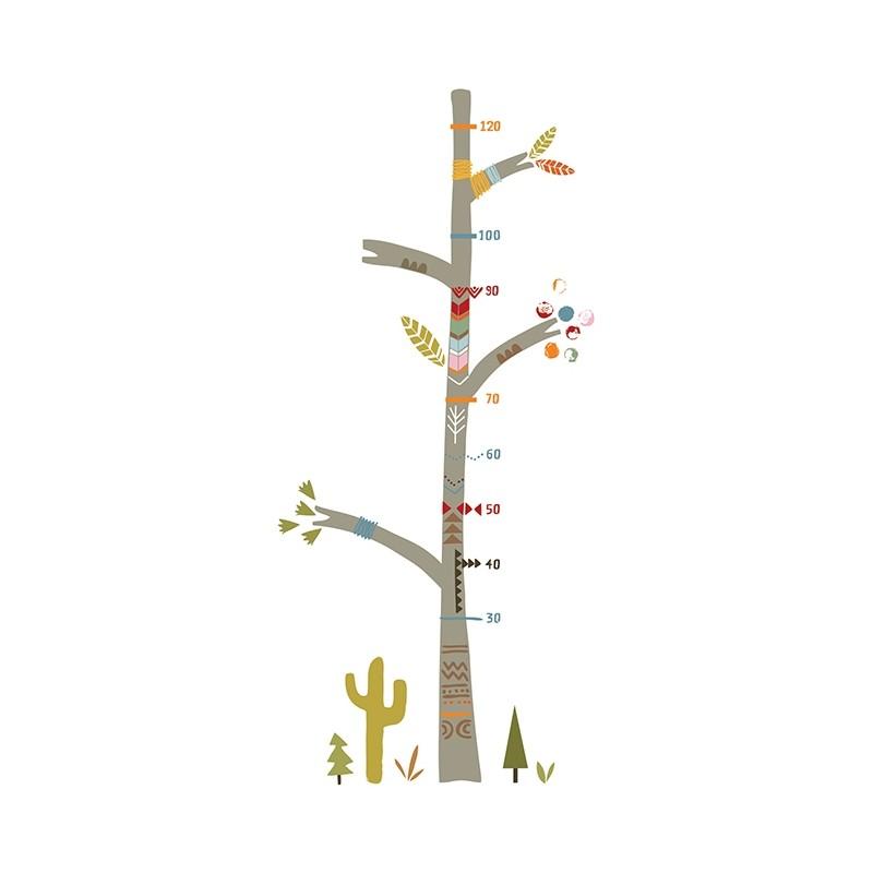 Toise b b arbre indien lilipinso chambre d 39 enfant for Toise chambre bebe