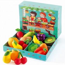 Louis et Clémentine Fruits et légumes
