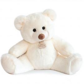 Peluche Bel'ours Blanc Histoire d'Ours 50cm