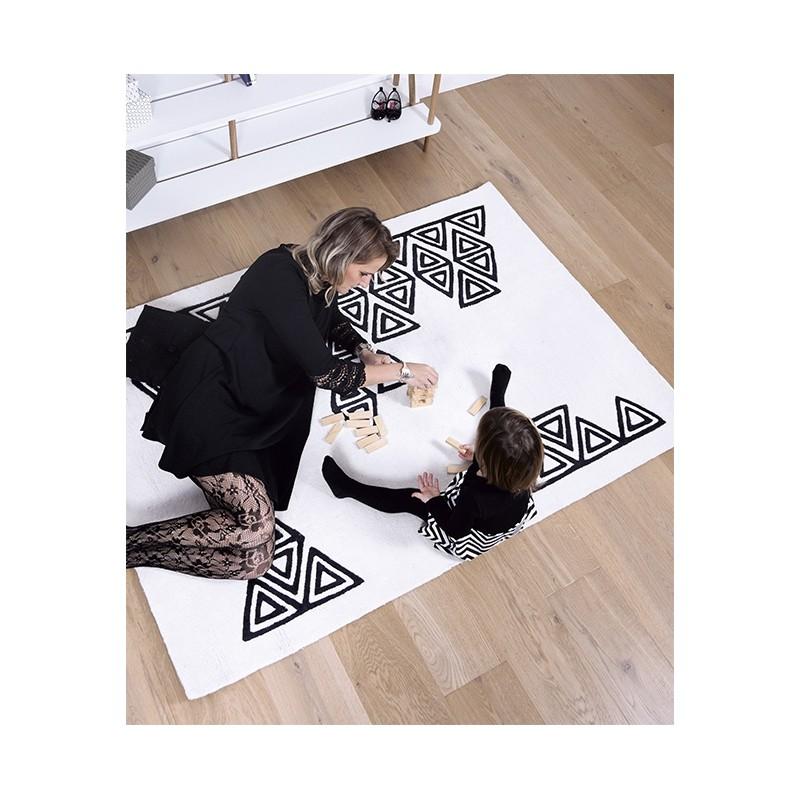 tapis enfant g om trique boho lilipinso. Black Bedroom Furniture Sets. Home Design Ideas
