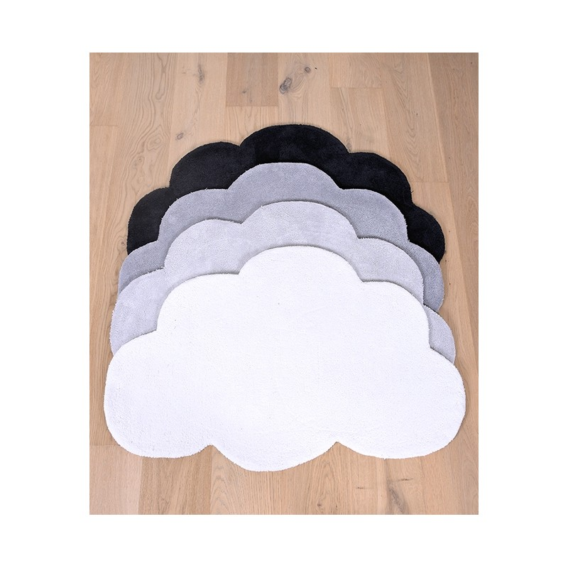 tapis enfant nuage gris lilipinso. Black Bedroom Furniture Sets. Home Design Ideas
