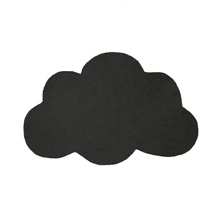 tapis en forme de nuage noir lilipinso. Black Bedroom Furniture Sets. Home Design Ideas