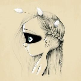 Tableau Wild girl 06