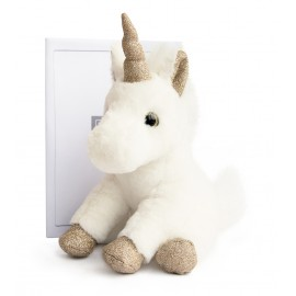 Peluche Licorne Or Histoire d'Ours