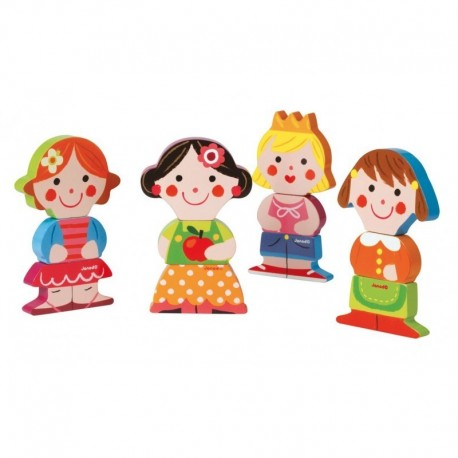 Funny magnet Baby Dolls