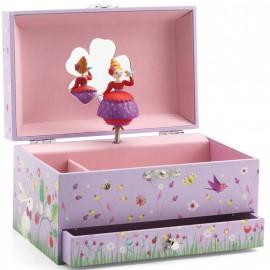 Boîte à bijoux Mélodie de la princesse Djeco