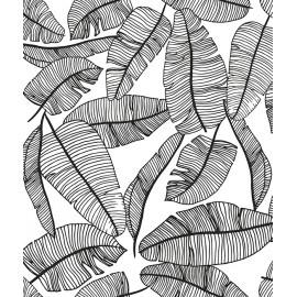 Papier peint feuillage tropical Lilipinso