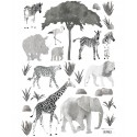 Stickers animaux sauvages Lilipinso