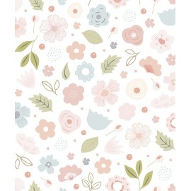 Papier peint Boutons de roses Lilipinso
