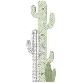 Sticker toise cactus Lilipinso