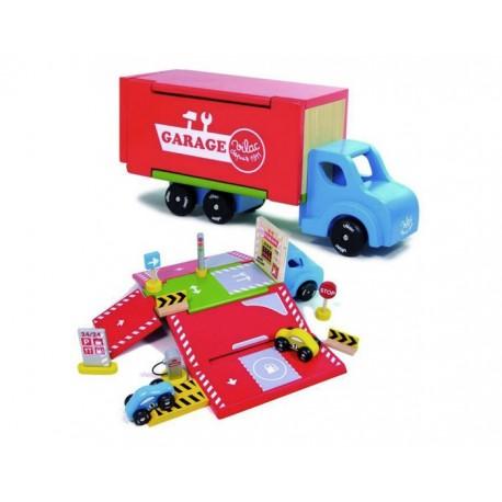 Camion Garage Ambulant Vilac