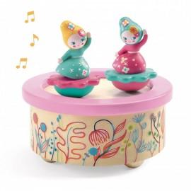 Boîte à musique Flower Melody Djeco