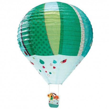 Jef lanterne montgolfière cache ampoule Lilliputiens