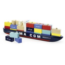 Navire porte-conteneurs Villacity Vilac