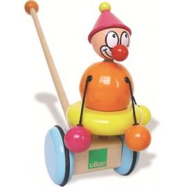 Titoon le Clown à pousser Vilac