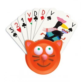 Porte cartes Chat Djeco