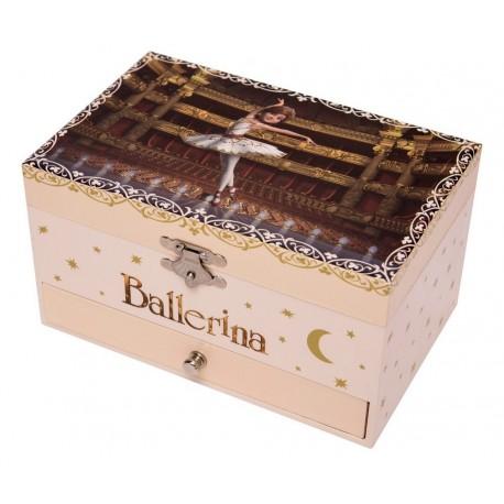 Boîte à bijoux musicale Ballerina Trousselier